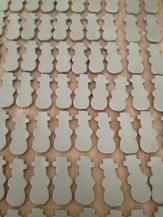 sneeuwmannetjes klaar voor de oven