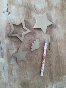 nieuwe items voor de kerst: open ster, wolkjes en nog veel meer...