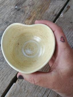 mini heart bowl